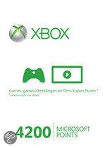 Foto van Microsoft Xbox Live 4200 Microsoft Punten Xbox 360
