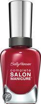 Sally Hansen Complete Salon Manicure - 575 Red-Handed - Nailpolish