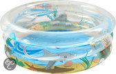 Bestway 3 Rings Opblaasbaar Zwembad - Sea Life - 201x53 cm