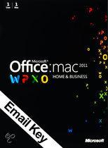 Microsoft Office Microsoft Office Mac Home and Business 2011 - | OEM | Download + Licentie | Installatietaal naar keuze | MAC
