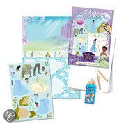 Disney Princess & the Frog Magic Sticker Drawing Set