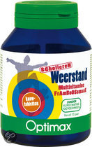 Optimax Scholieren Weerstand Kauwtabletten 60 st