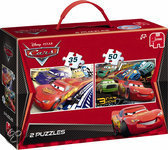 Cars 2 Puzzel 2 in 1 Koffer