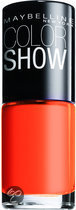 Maybelline Color Show - 312 WOW Orange - Nagellak