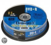Intenso DVD+R DL 8,5GB Cakebox [10 Disc]