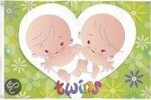 Haza Babyset Gevelvlag tweeling