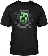 Minecraft - Creeper Inside Kinder T-Shirt - 152