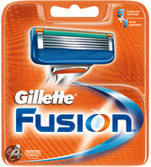 Gillette Fusion Manual Scheermesjes - 4-pack