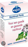 Wapiti Nachtrust Forte - 40 Tabletten - Voedingssupplement