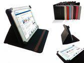Hoes voor de Empire Electronix M805, Multi-stand Cover, Ideale Tablet Case, Zwart, merk i12Cover