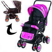 Johnson Kinderwagen Snopy Pink