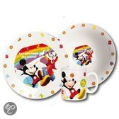 Disney Mickey Mouse Serviesset - 3-delig