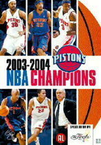 NBA Champions 2003-2004 - Detroit Pistons