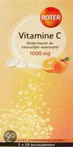 Roter Vitamine C  Duo Sinas-Abrikoos - 40 Bruistabletten - Vitaminen