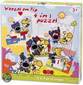 Woezel En Pip 4 In 1 Puzzel