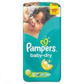 Pampers Baby Dry - Maat 5 Jumbopak 56 stuks