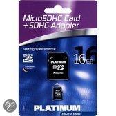 PlatinummicroSDHC 16 GB