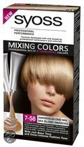 Syoss Mixing Colors Amandelblond Mix Haarkleuring  7-58