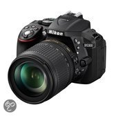 Nikon D5300 + 18-105mm VR - Spiegelreflexcamera - Zwart