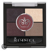 Rimmel Glam'Eyes HD Pentad Eyeshadow - 022 Brixton Brown - Eyeshadow