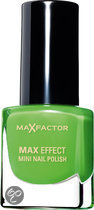 Max Factor Max Effect - 32 Cactus Green - Groen - Mini Nagellak