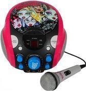 Monster High Karaoke Set met Microfoon