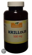 Elvitaal Krill Olie 500 mg 90 caps