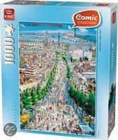 Comic Puzzel Barcelona