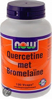 Now Quercetine with Bromelain Capsules 120 st