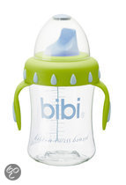 bibi - Anti-Lek Beker - Lime/Blauw 250Ml
