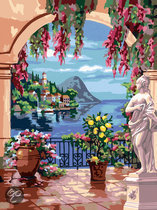 Schilderen Op Nummer - Aan Het Lago Maggiore