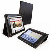 Tuff-Luv Uni-view FX Leren case iPad 2/Retina zwart