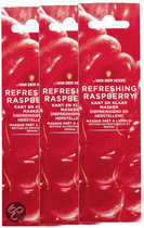 Dr van der Hoog Refreshing Raspberry - Gezichtsmasker - 3 stuks - Voordeelverpakking