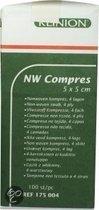 Klinion Nw Kompres 4 Lagen - 100 stuks - Verband