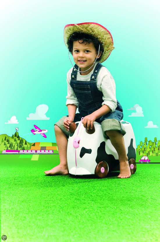 Trunki Ride-On - Koe Frieda - Kinderreiskoffertje