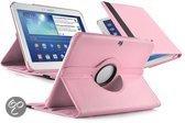 Samsung Galaxy Tab 3 10.1 Swivel Case, 360 graden draaibare Hoes, Functionele Cover, Kleur Roze
