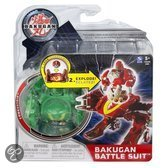 Bakugan Battle suit: combustoid groen