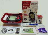Chinaherbage Bloedsuikermeter Bloedsuikermeter Ecom complete set om uw bloedsuiker te meten