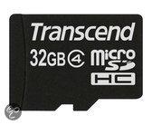 Transcend MicroSDHC-Kaart - 32 GB