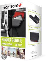 TomTom voordeelbundel - Tas voor 4.3 en 5 inch + High Speed Multi oplader