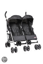 Top Mark - Twin Buggy Aluminium - Zwart