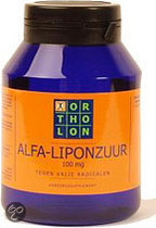 Ortholon Alpha Liponzuur 100 mg Capsules 60 st