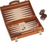 Backgammon hout ingelegd 18