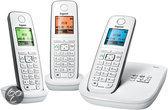 Gigaset A510A - Trio DECT telefoon met antwoordapparaat - Wit