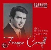 Franco Corelli  Vol. 1  Belcanto & Verdi  rec. 1956-62