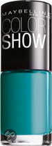 Maybelline Color Show - 120 Urban Turquoise - Blauw - Nagellak