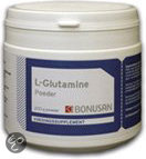 Bonusan L-Glutamine - 200 gram- Poeder - Voedingssupplementen
