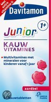 Davitamon Junior 1+ - Aardbei - 120 st - Multivitaminen