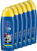 Fa Kids Douche & Shampoo Pirate - 6 st - voordeelverpakking
