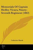 Memorials Of Captain Hedley Vicars, Ninety-Seventh Regiment (1863)